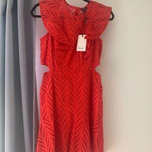 Bardot Dresses - Bardot Red Dress- new with tags, size 8